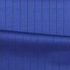 Costume sur-mesure Bleu rayures craies noires
