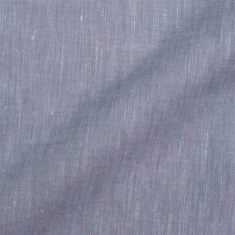 Veste sur mesure - Tissu Lin Bleu Charron