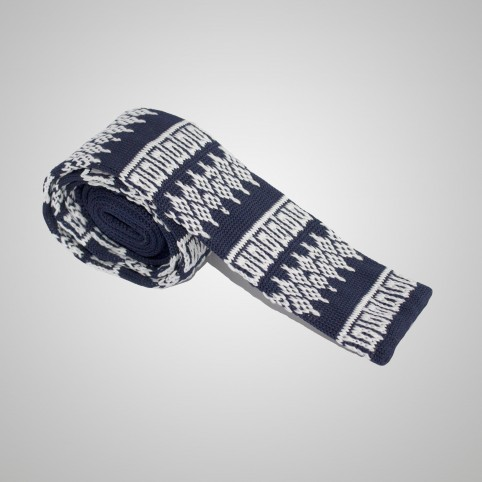 Cravate en laine Marron clair