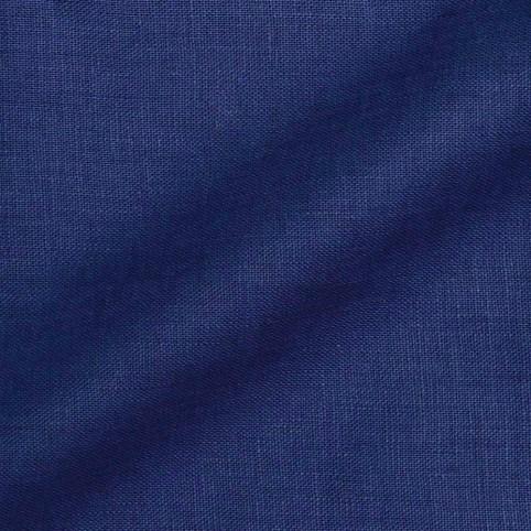 Veste sur mesure - Tissu Lin Bleu Marine