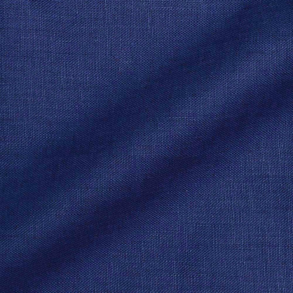 Tailor Made Jacket - Navy Blue Linen Fabric