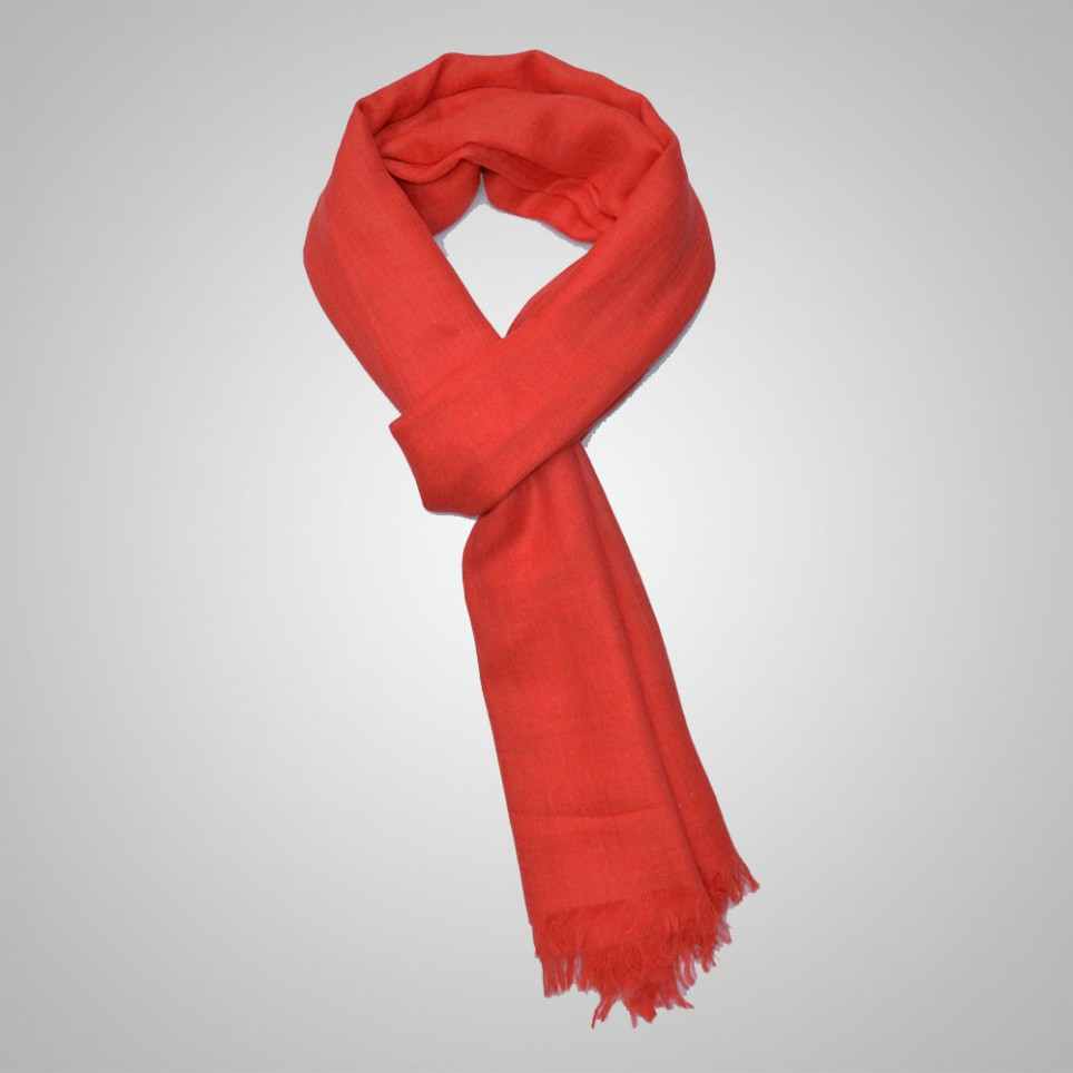 Coral Bamboo Scarf