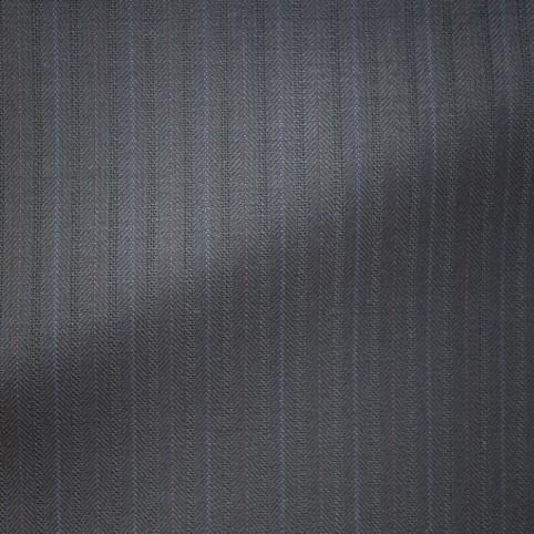 Costume sur-mesure Noir double rayures