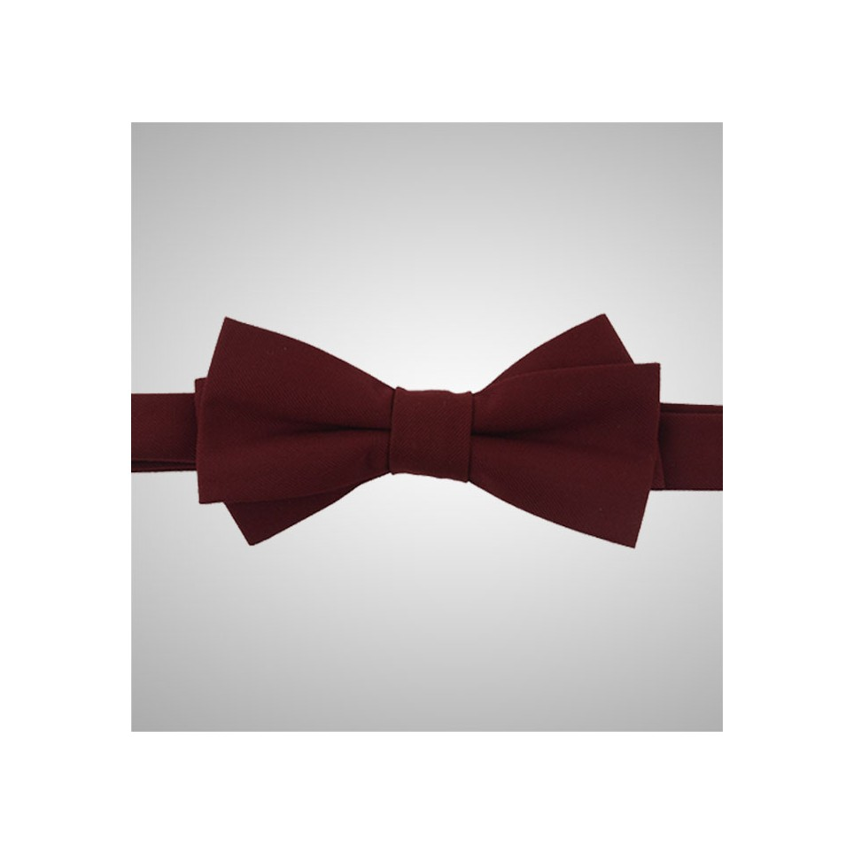 Red Pattern Bow Tie