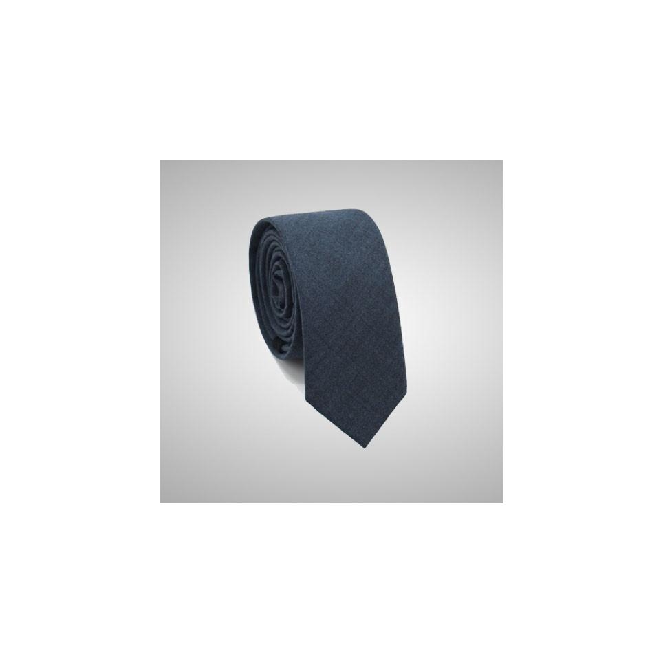 Blue Slim Tie