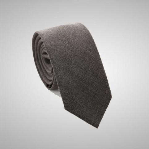 Taupe Slim Tie