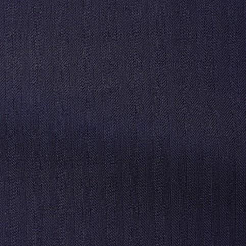 Costume sur-mesure Bleu Nuit à Chevrons