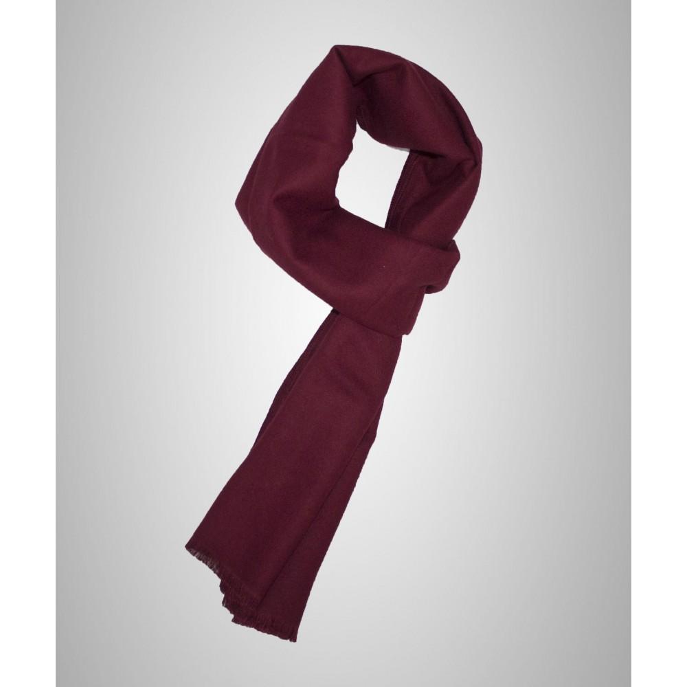 8fcb1417f1f Echarpe couleur bordeaux en cachemire pour homme