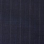 Costume sur-mesure Bleu Caviar Rayé