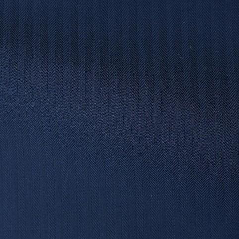 Costume sur-mesure Bleu Nuit Chevronné