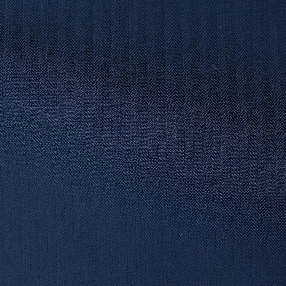 Navy Blue Herringbone Suit