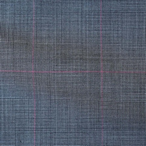 Red Check Grey Princes of Wales Suit