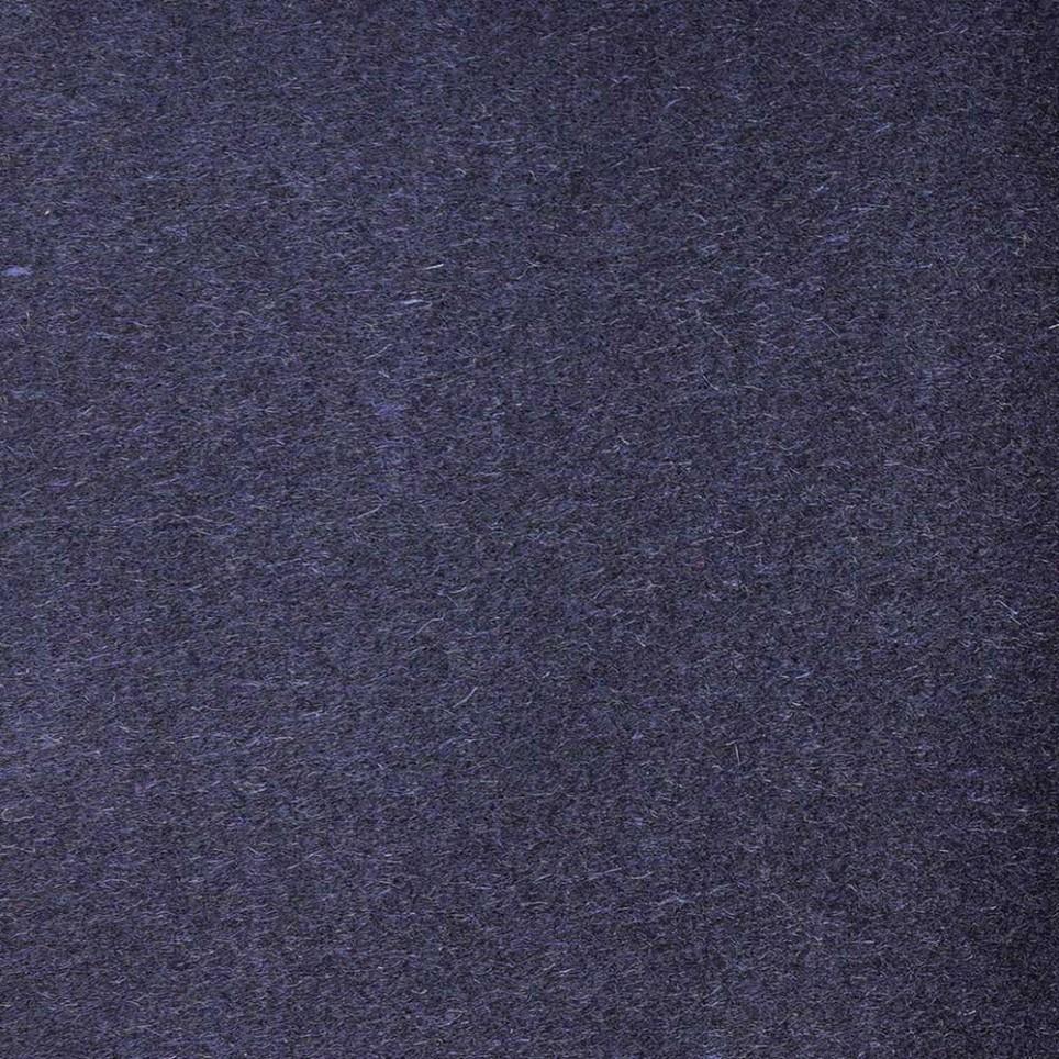 Manteau Cachemire Tissu Bleu Nuit