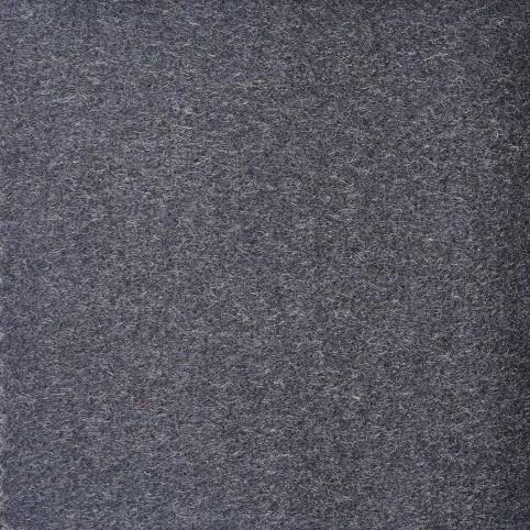 Manteau Cachemire Tissu Gris Foncé