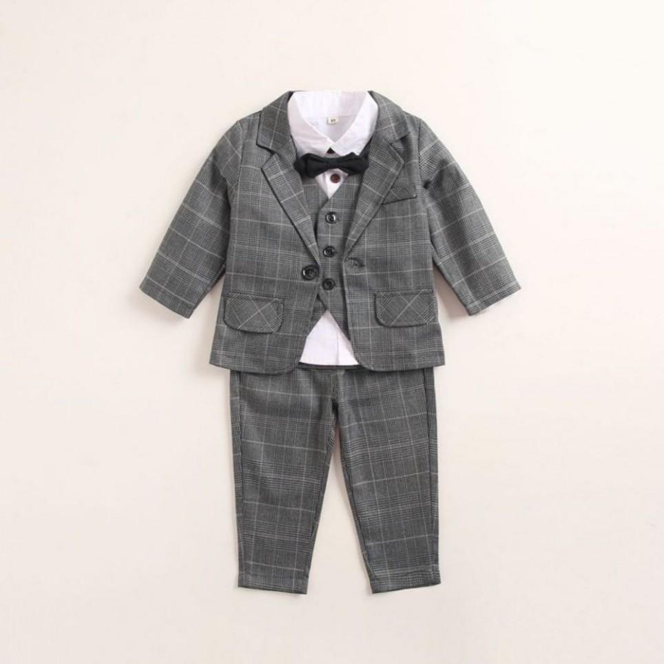 Grey Baby Suit
