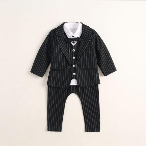 Costume bébé noir