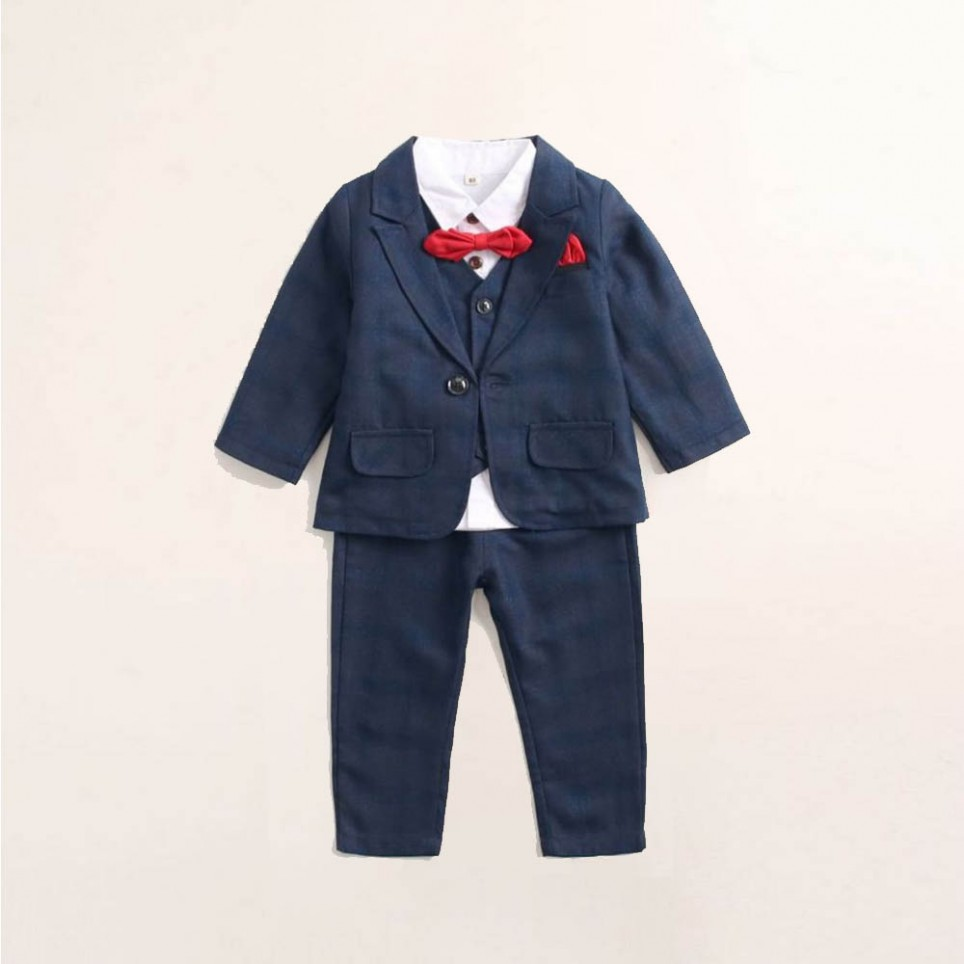 Navy Blue Baby Suit