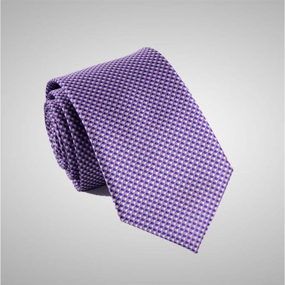 Pattern Purple Tie