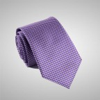 Cravate Violette à motifs