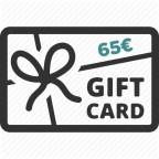 Carte Cadeau 65€