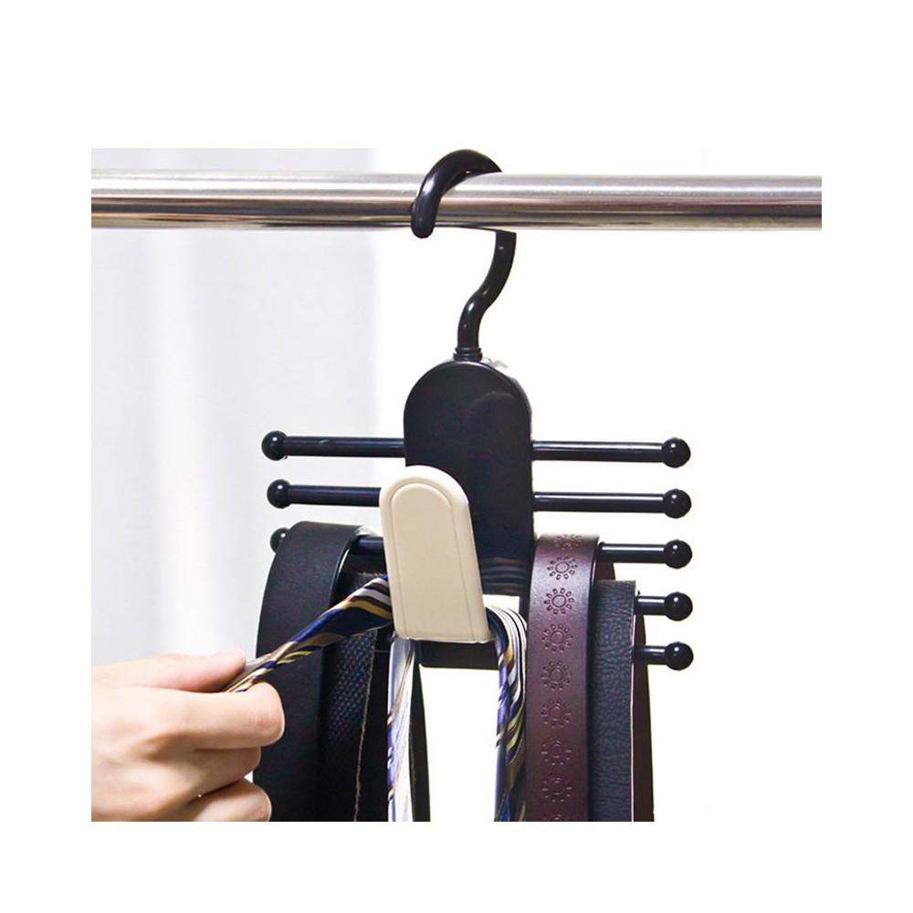 info pour Promotion de ventes à bas prix Ties Hanger - 11 hooks