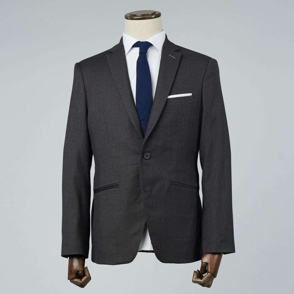 Grey Caviar Suit