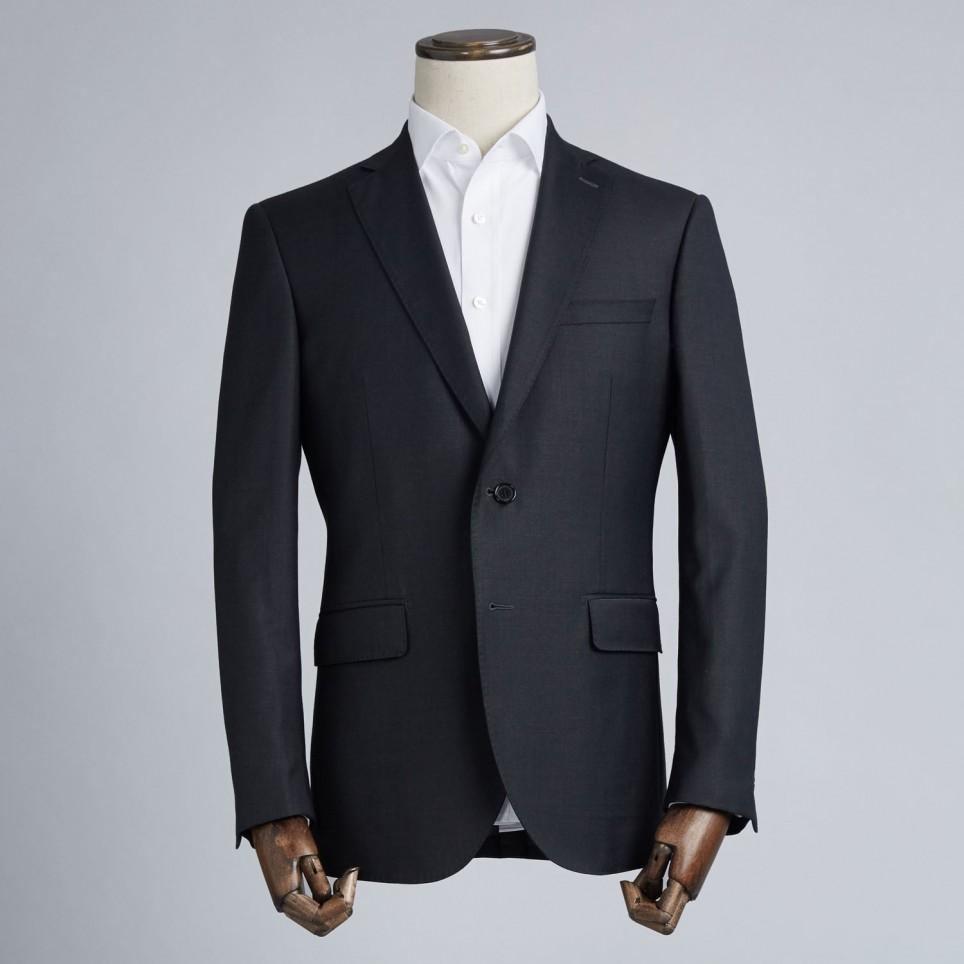 Costume sur-mesure Noir Charcoal