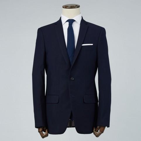 Costume sur-mesure : Uni Bleu Nuit