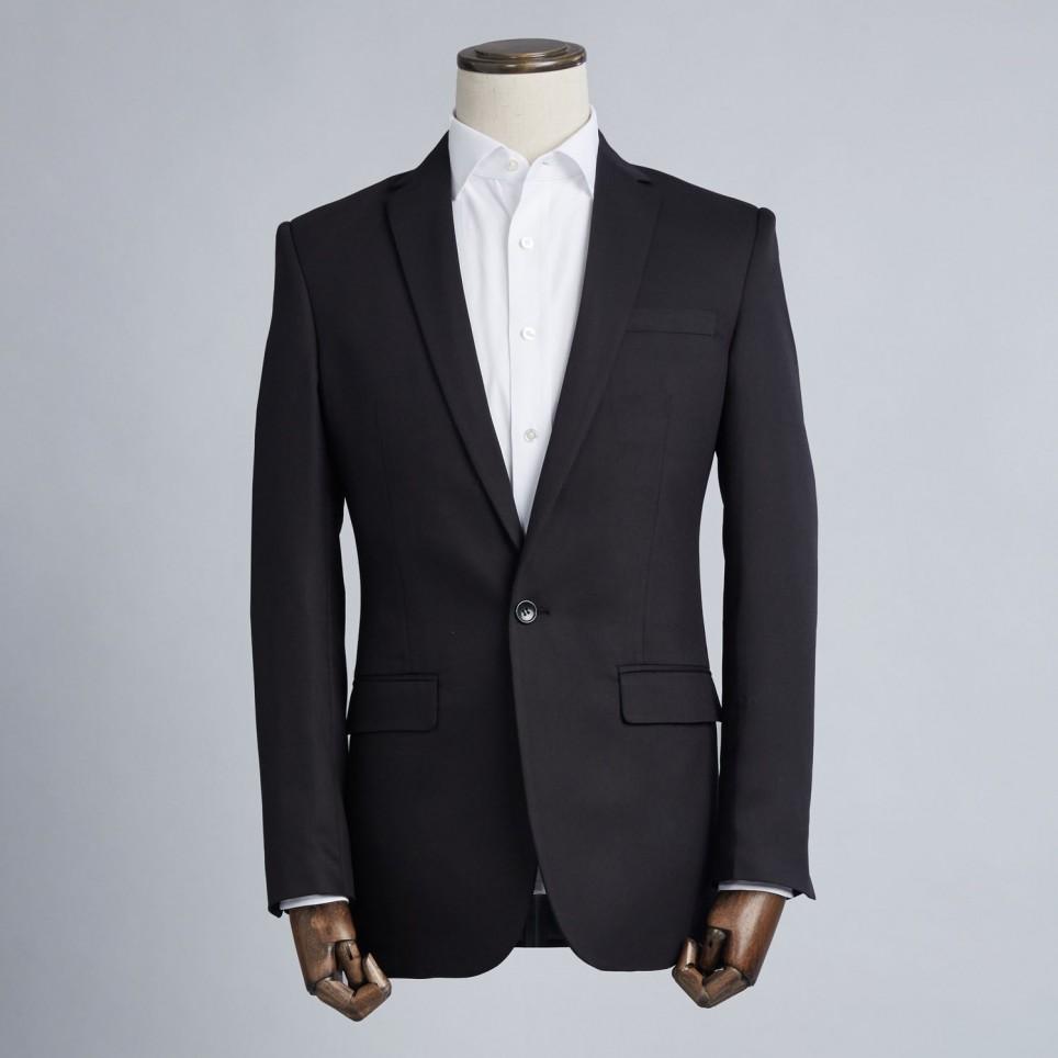 Costume sur-mesure : Uni Noir