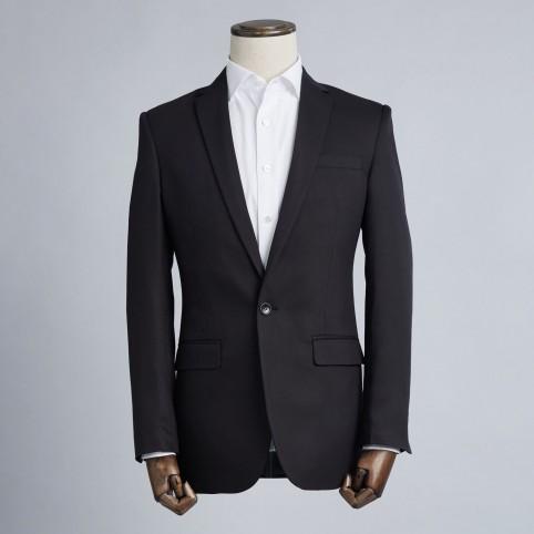 Costume sur-mesure Uni Noir