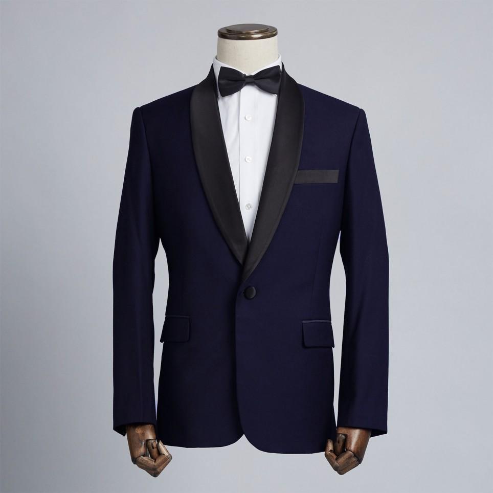 Tuxedo Châle Bleu nuit
