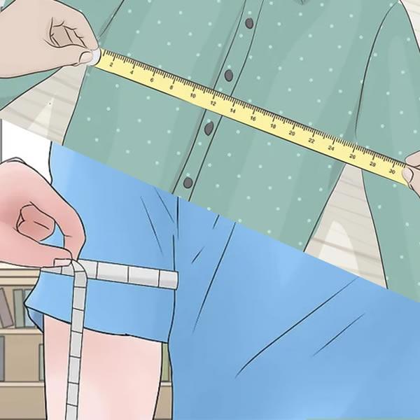 prise de mesures chemise ou corps