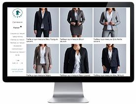 Personnalisation tailleur femme sur mesure