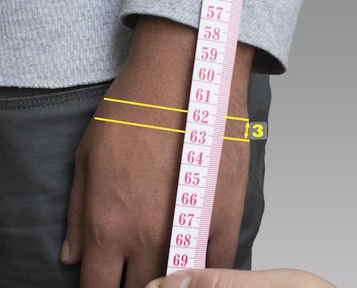 mesure de la longueur de bras